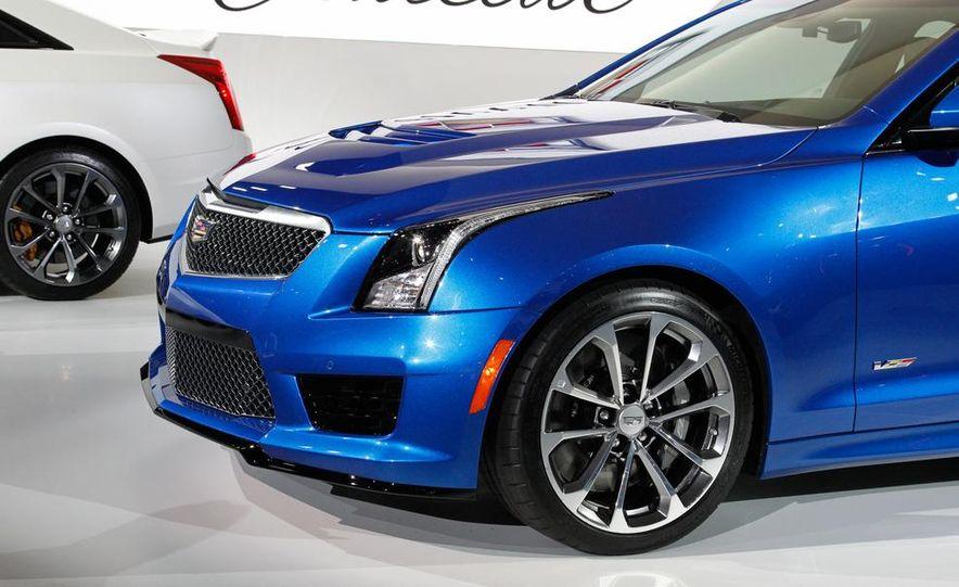 2016 Cadillac ATS-V coupe - Slide 36