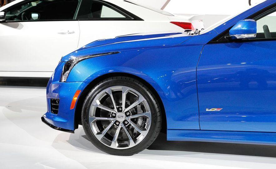 2016 Cadillac ATS-V coupe - Slide 37