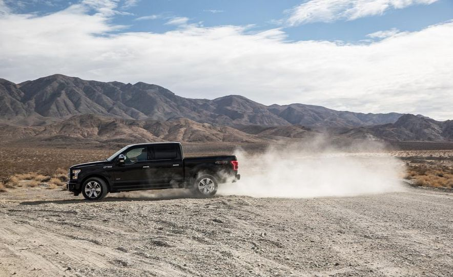 2015 Ford F-150 Platinum 3.5L EcoBoost - Slide 4