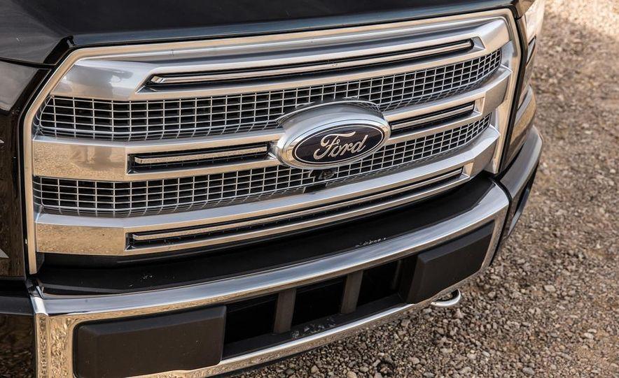 2015 Ford F-150 Platinum 3.5L EcoBoost - Slide 14