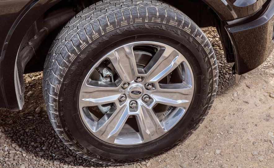 2015 Ford F-150 Platinum 3.5L EcoBoost - Slide 18