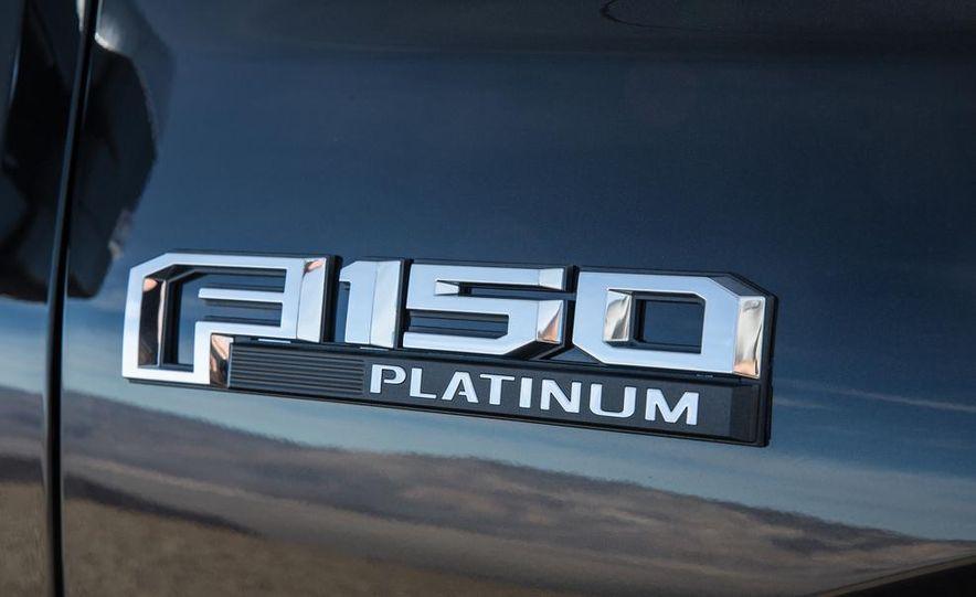 2015 Ford F-150 Platinum 3.5L EcoBoost - Slide 20