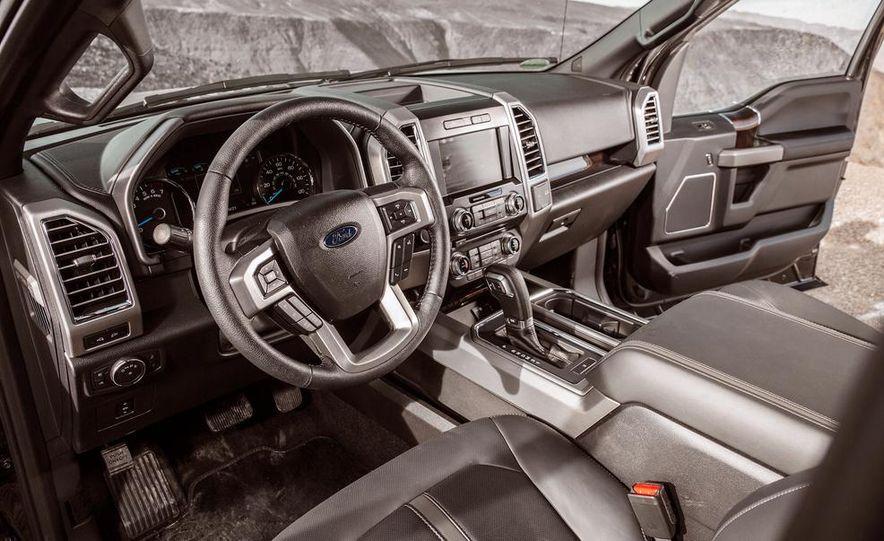 2015 Ford F-150 Platinum 3.5L EcoBoost - Slide 21