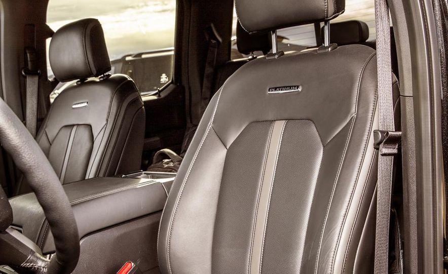 2015 Ford F-150 Platinum 3.5L EcoBoost - Slide 22