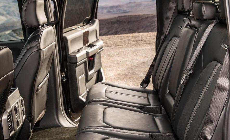 2015 Ford F-150 Platinum 3.5L EcoBoost - Slide 23