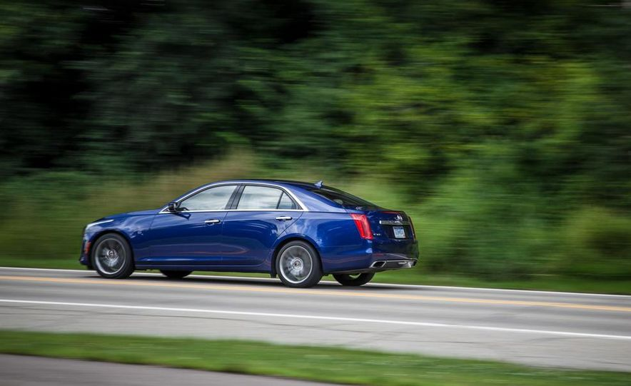 2015 Cadillac CTS Vsport - Slide 9