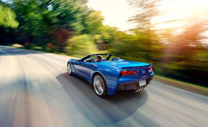 2015 Chevrolet Corvette Stingray convertible - Slide 1