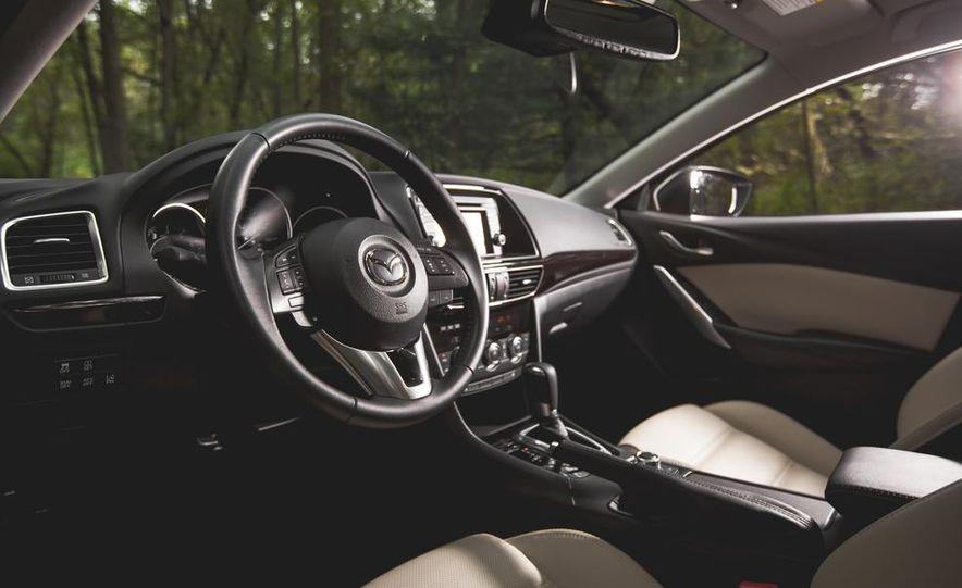2015 Mazda 6 with i-eLOOP Energy Recuperation - Slide 13