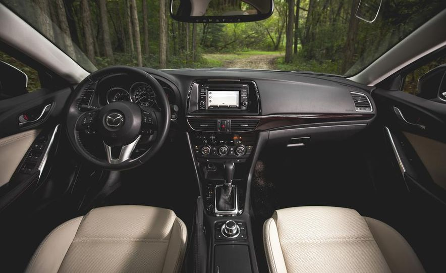 2015 Mazda 6 with i-eLOOP Energy Recuperation - Slide 14