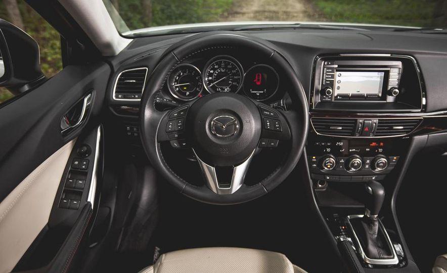 2015 Mazda 6 with i-eLOOP Energy Recuperation - Slide 22