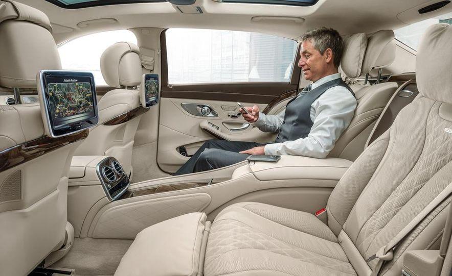 2016 Mercedes-Maybach S600 - Slide 42