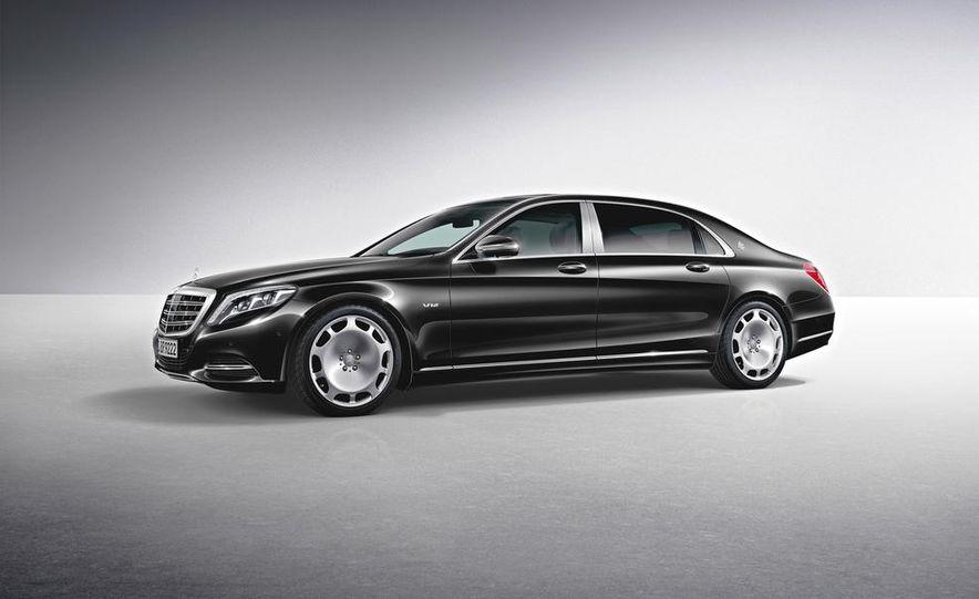 2016 Mercedes-Maybach S600 - Slide 33