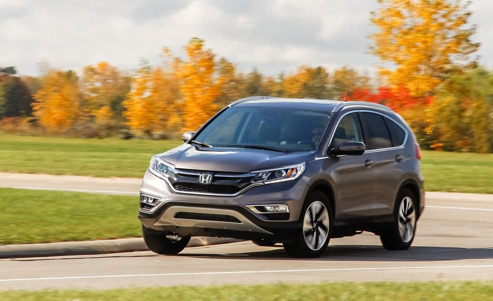 2015 Honda CRV Touring AWD Pictures  Photo Gallery  Car and Driver