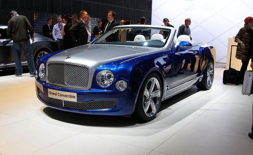 Bentley Grand convertible concept - Slide 3