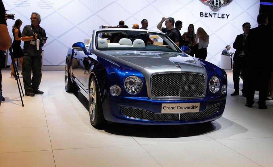 Bentley Grand convertible concept - Slide 5
