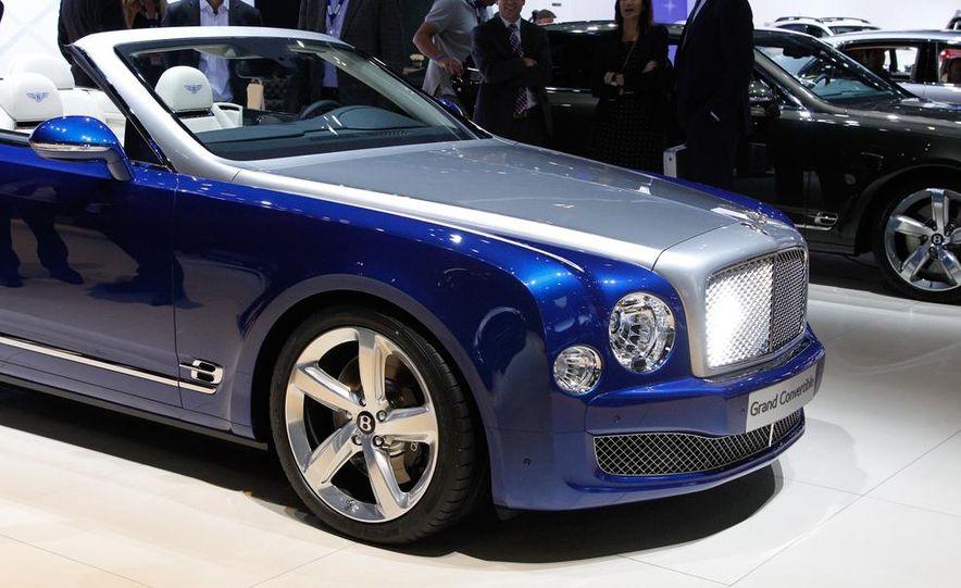 Bentley Grand convertible concept - Slide 12
