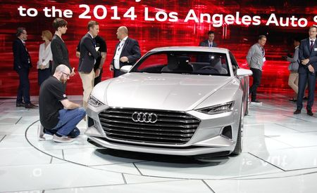 Audi Prologue Concept: The Evolution of Four-Ringed Design