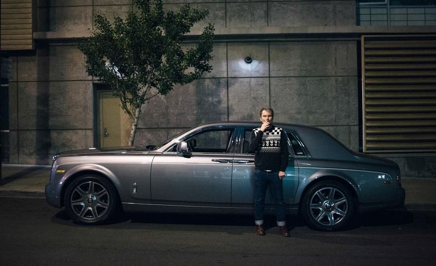 Our Night as an Uber Driver—Using a $500,000 Rolls-Royce - Slide 1