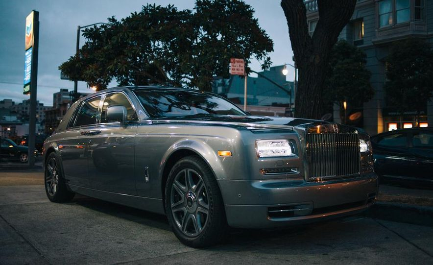 Our Night as an Uber Driver—Using a $500,000 Rolls-Royce - Slide 3