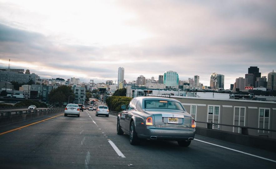 Our Night as an Uber Driver—Using a $500,000 Rolls-Royce - Slide 6