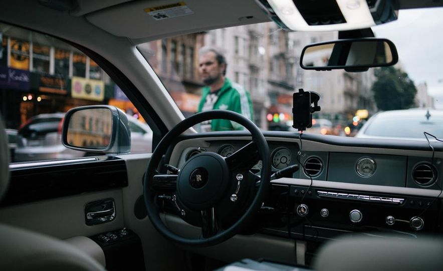 Our Night as an Uber Driver—Using a $500,000 Rolls-Royce - Slide 14