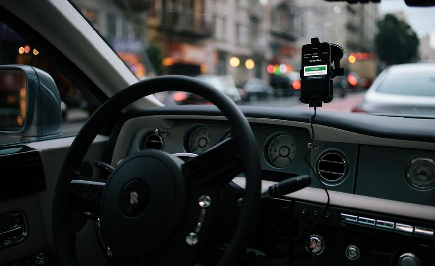 Our Night as an Uber Driver—Using a $500,000 Rolls-Royce - Slide 17
