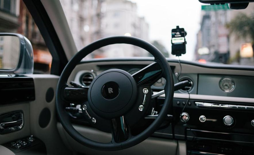 Our Night as an Uber Driver—Using a $500,000 Rolls-Royce - Slide 18