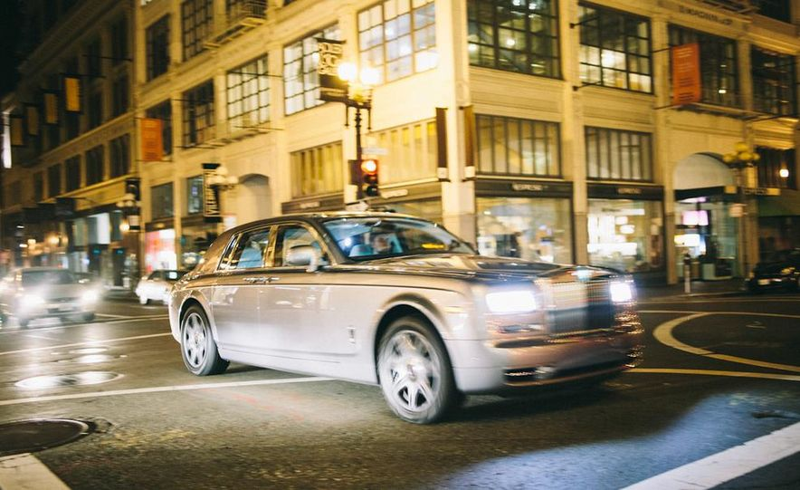 Our Night as an Uber Driver—Using a $500,000 Rolls-Royce - Slide 19