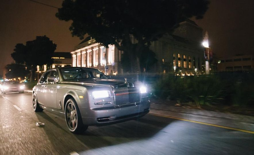 Our Night as an Uber Driver—Using a $500,000 Rolls-Royce - Slide 20
