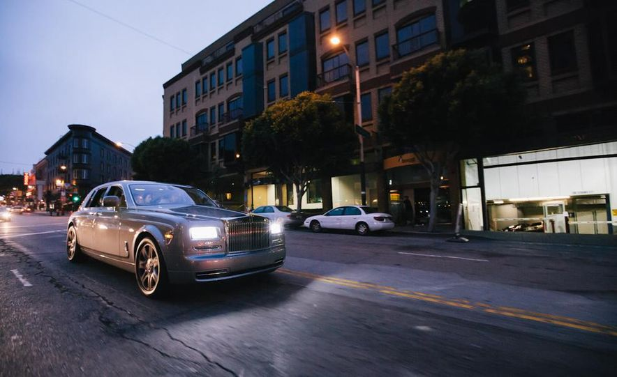 Our Night as an Uber Driver—Using a $500,000 Rolls-Royce - Slide 21