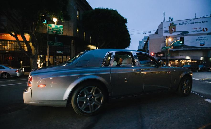 Our Night as an Uber Driver—Using a $500,000 Rolls-Royce - Slide 22