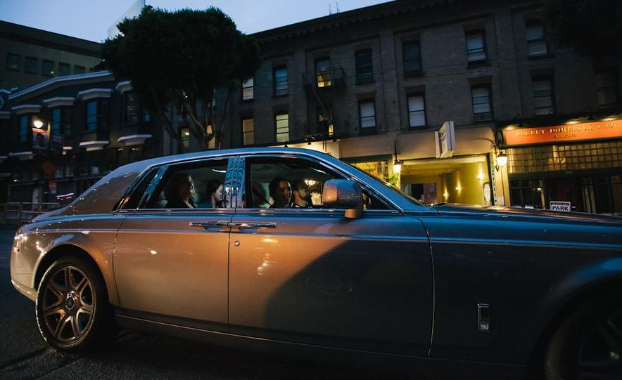 Our Night as an Uber Driver—Using a $500,000 Rolls-Royce - Slide 23