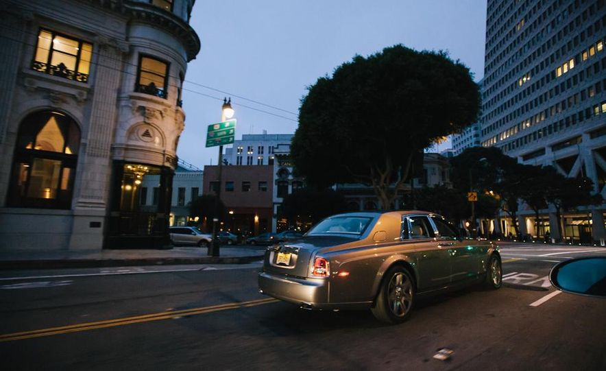 Our Night as an Uber Driver—Using a $500,000 Rolls-Royce - Slide 24