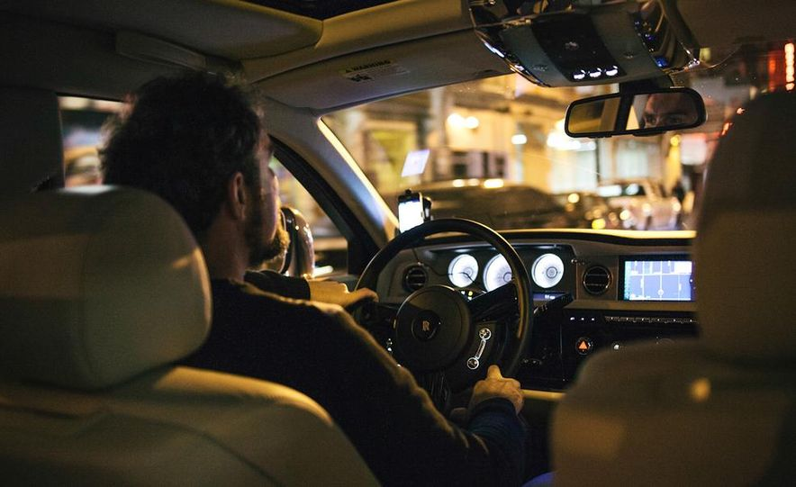 Our Night as an Uber Driver—Using a $500,000 Rolls-Royce - Slide 26