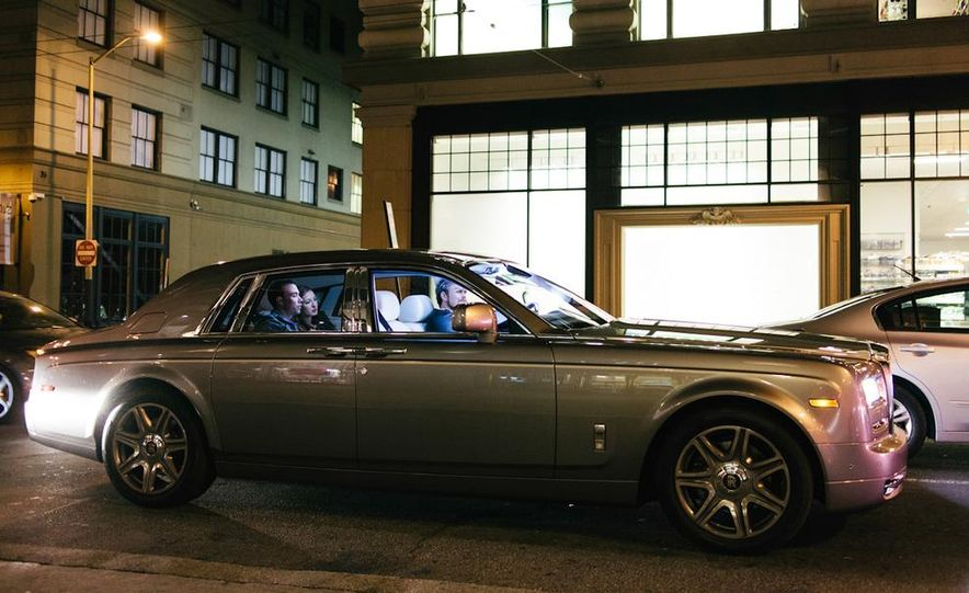 Our Night as an Uber Driver—Using a $500,000 Rolls-Royce - Slide 29