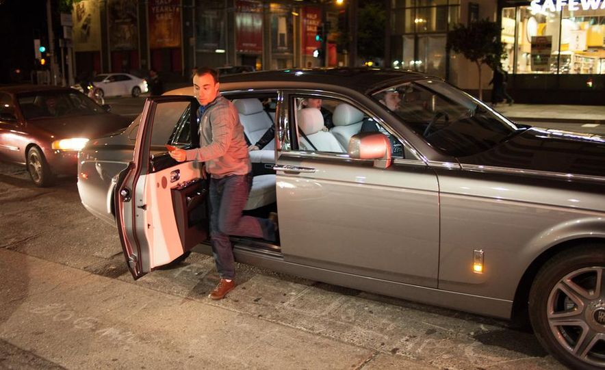 Our Night as an Uber Driver—Using a $500,000 Rolls-Royce - Slide 32