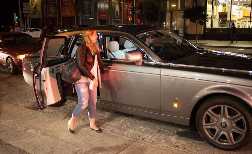 Our Night as an Uber Driver—Using a $500,000 Rolls-Royce - Slide 33