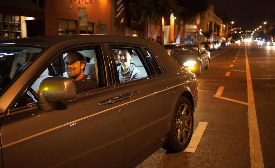 Our Night as an Uber Driver—Using a $500,000 Rolls-Royce - Slide 35