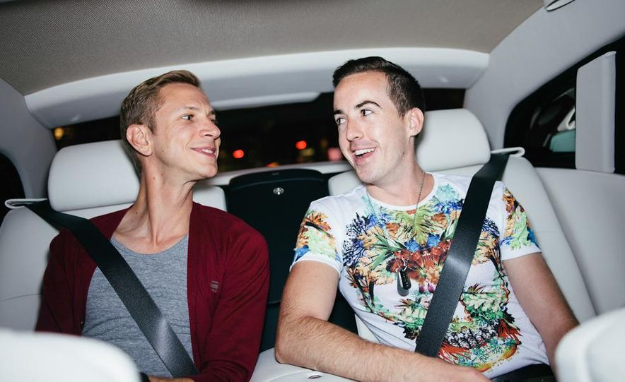 Our Night as an Uber Driver—Using a $500,000 Rolls-Royce - Slide 37