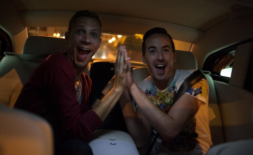 Our Night as an Uber Driver—Using a $500,000 Rolls-Royce - Slide 38