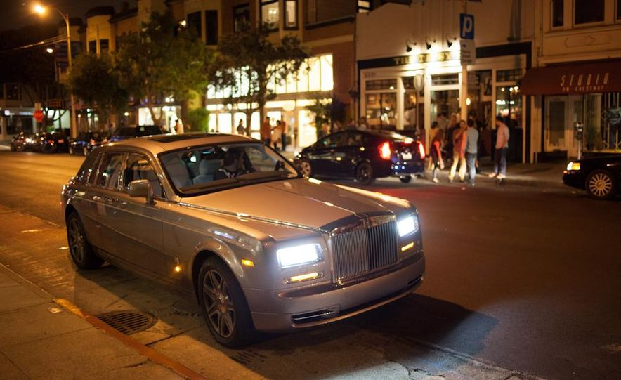 Our Night as an Uber Driver—Using a $500,000 Rolls-Royce - Slide 40