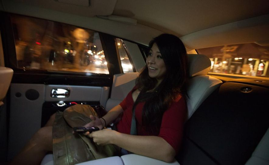Our Night as an Uber Driver—Using a $500,000 Rolls-Royce - Slide 45