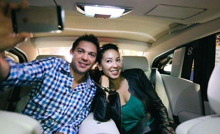 Our Night as an Uber Driver—Using a $500,000 Rolls-Royce - Slide 49