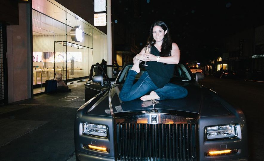Our Night as an Uber Driver—Using a $500,000 Rolls-Royce - Slide 53