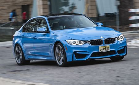 2015 BMW M3 Manual