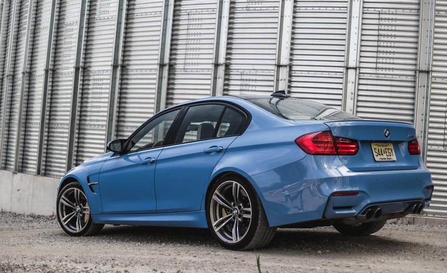 2015 BMW M3 - Slide 14