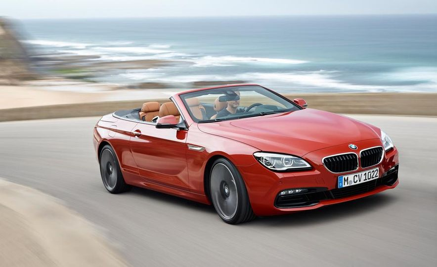 2016 BMW 6-series convertible - Slide 7