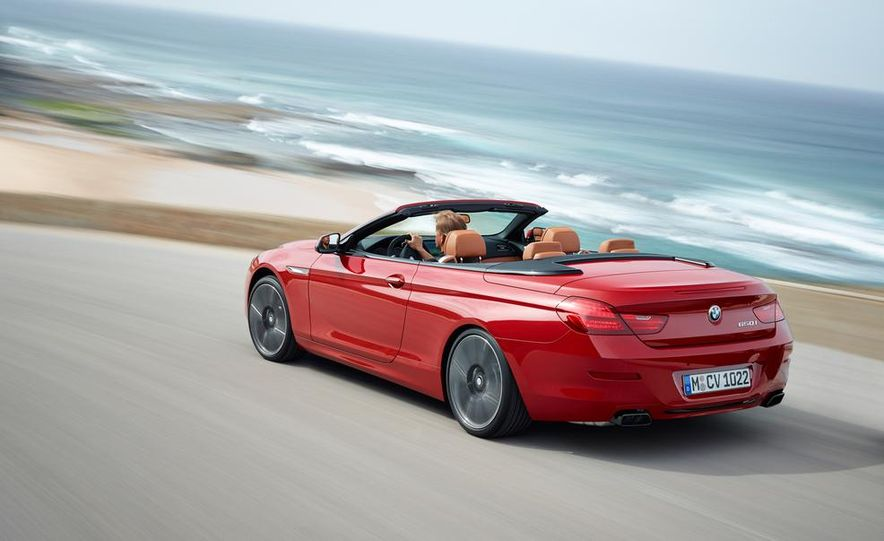 2016 BMW 6-series convertible - Slide 8