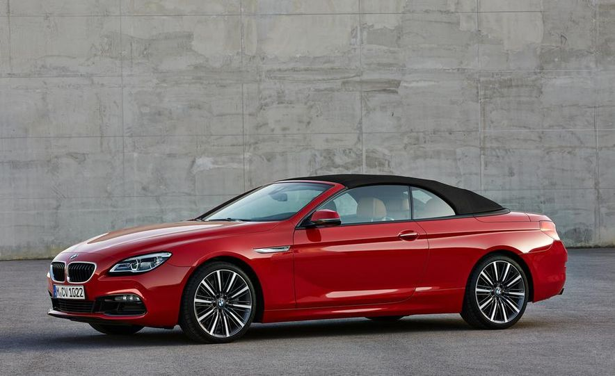 2016 BMW 6-series convertible - Slide 13