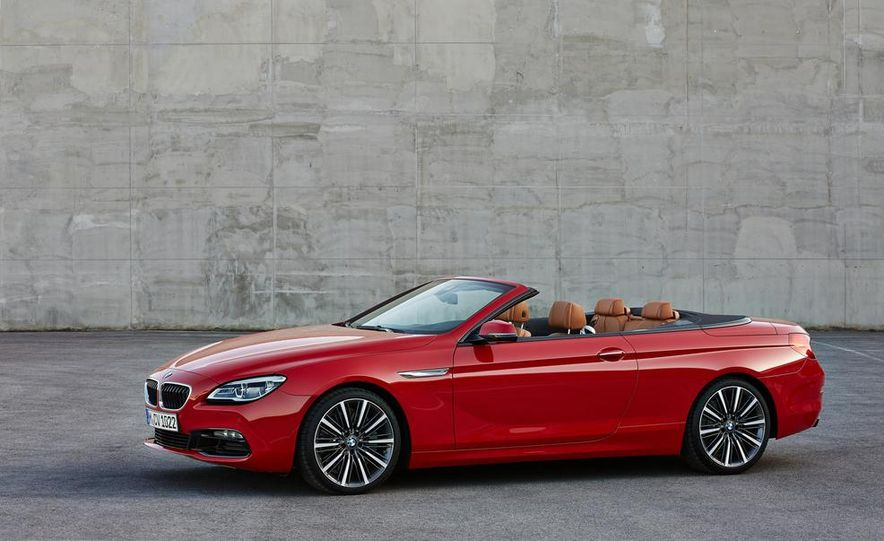 2016 BMW 6-series convertible - Slide 14